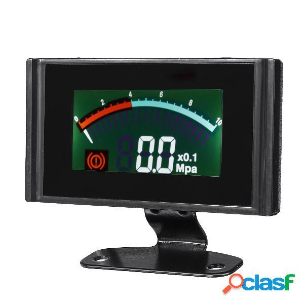 Automobile LCD Barometro misuratore di pressione digitale 0