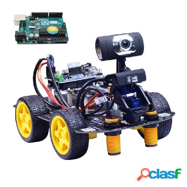 Automobile di controllo video Wifi robot intelligente Xiao R