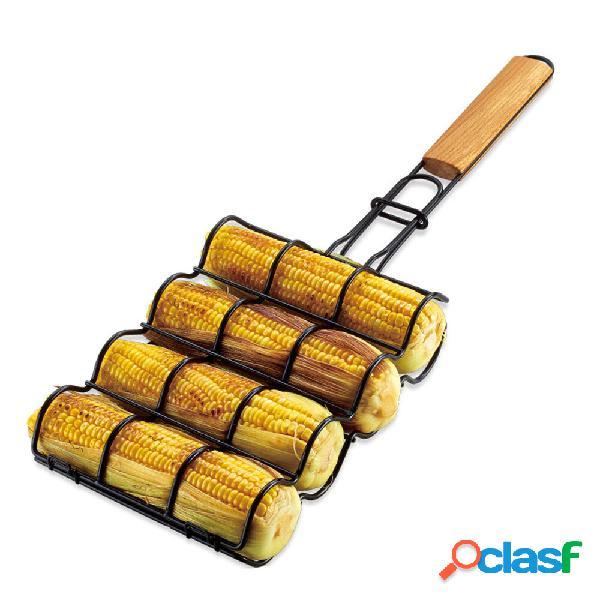 BOLEEFUN Cestello per griglia per mais antiaderente Griglia