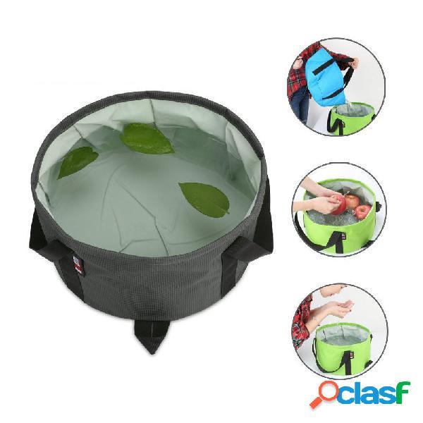 BUBM TJD portatile pieghevole lavabo acqua contenitore