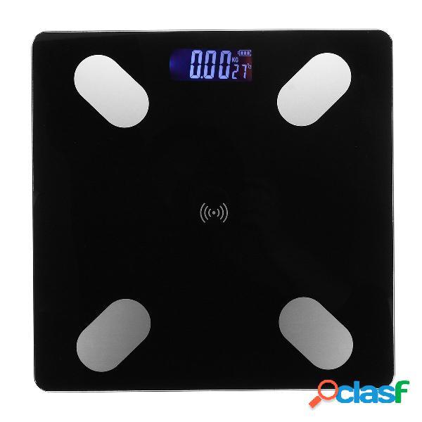 Bagno elettronico digitale Scala LCD Peso corporeo bluetooth