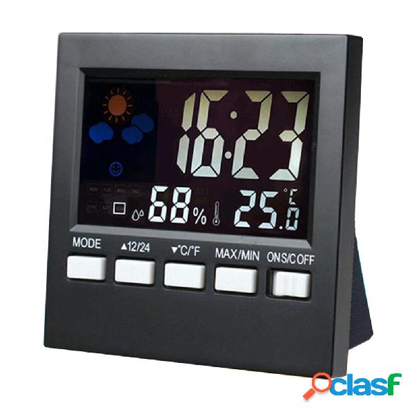 Bakeey LCD Diaplay Digital Termometro Sveglia per umidità