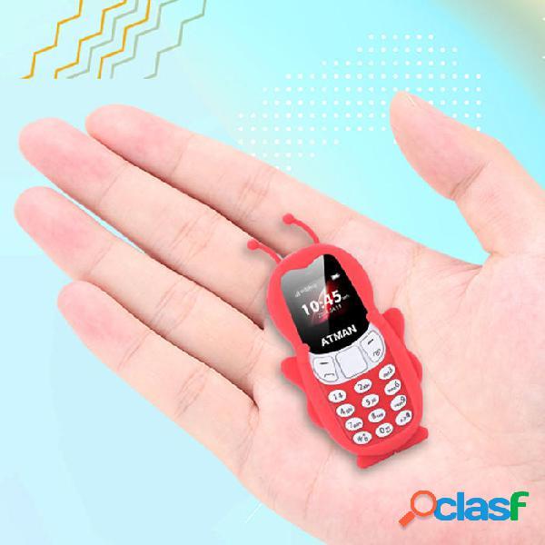 Bakeey V5 0,66 Pollici 350 mAh Dialer bluetooth MP3 Magia