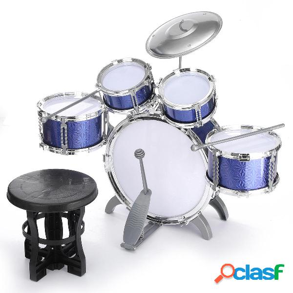 Batteria per bambini Jazz Set di strumenti musicali