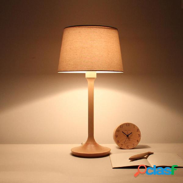 BelaDESIGN Wood LED Tavolo lampada Lampada da lettura dimmer