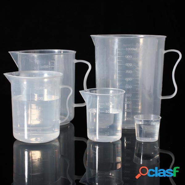 Bicchiere graduato graduato in plastica da 20 ml a 1000 ml