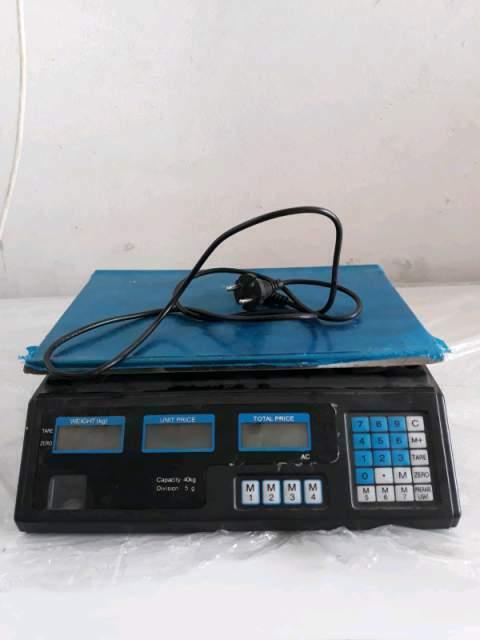 Bilancia elettronica digitale NUOVA da 5g a 40 kg