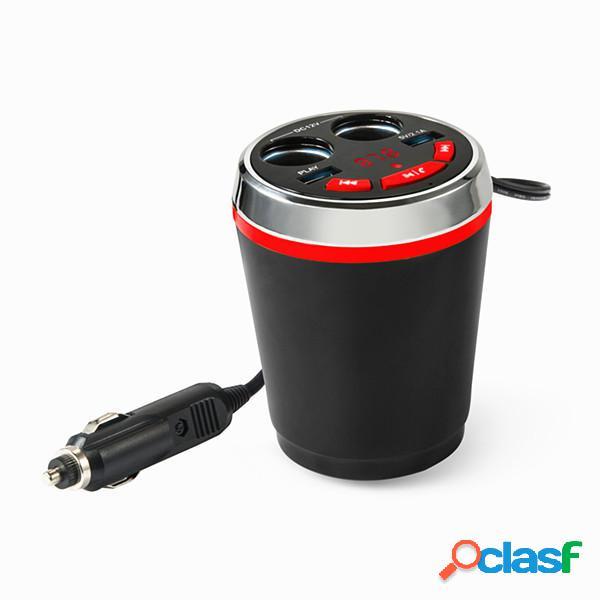 Bluetooth senza fili FM per auto accendisigari Dual USB