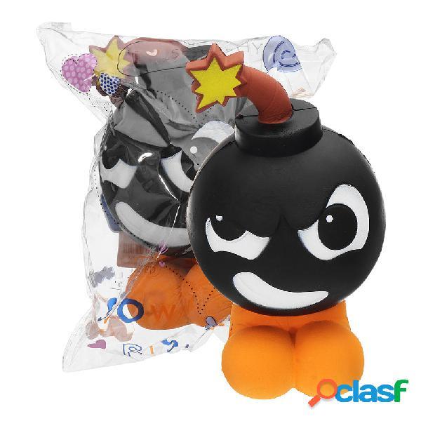 Bomb-Man Squishy 18 * 10CM Slow Rising Soft Collezione