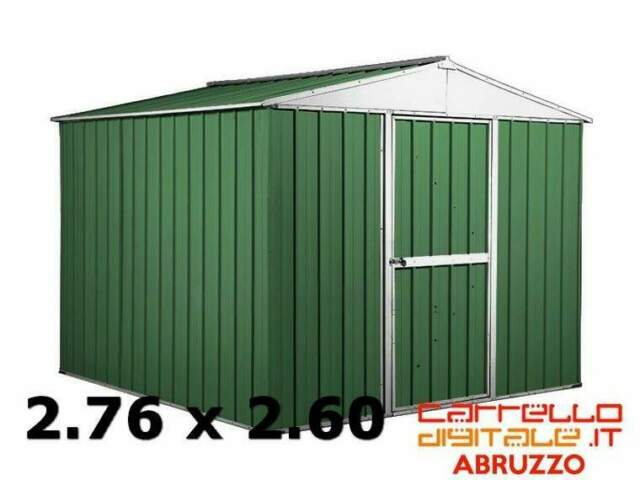 Box casetta cantiere container garage acciaio lamiera