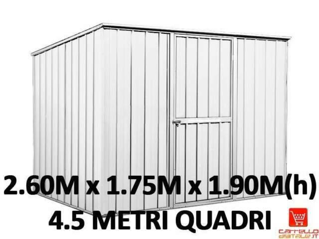 Box casetta lamiera zincata cantiere container garage