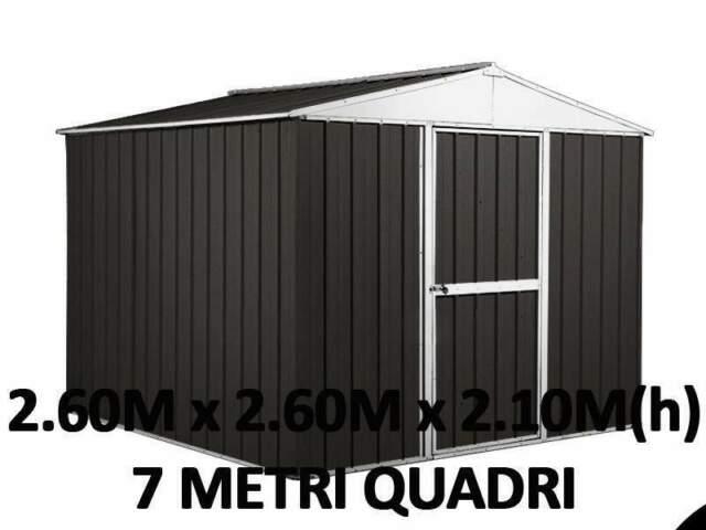 Box garage casetta cantiere container acciaio lamiera
