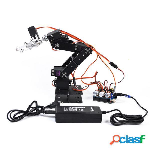 Braccio per robot in metallo RC piccolo Harmmer 6DOF fai da