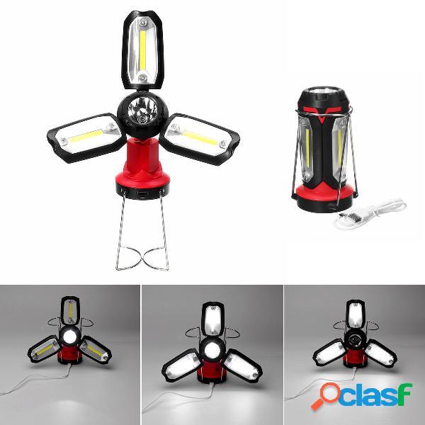 COB LED Supporto pieghevole ricaricabile di emergenza