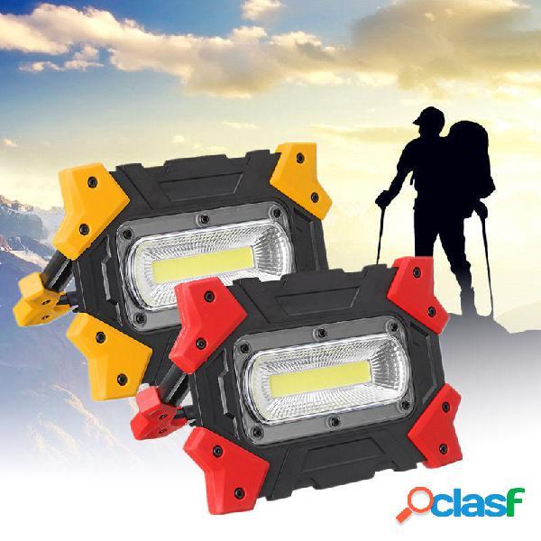COB pieghevole LED Lampada da lavoro portatile 3 modalità