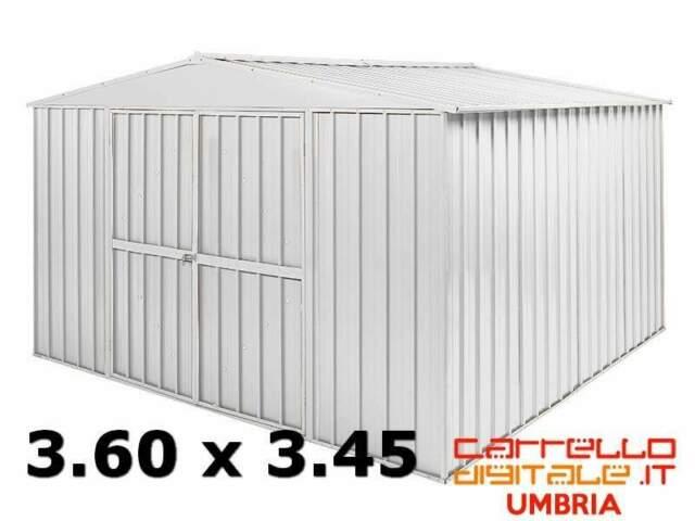 Casetta box garage acciaio lamiera zincata ferro