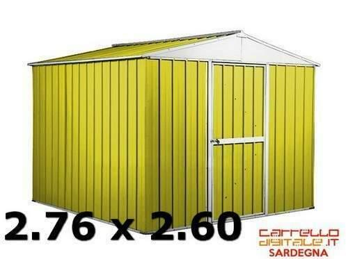 Casetta box garage acciaio lamiera zincata n coibentato