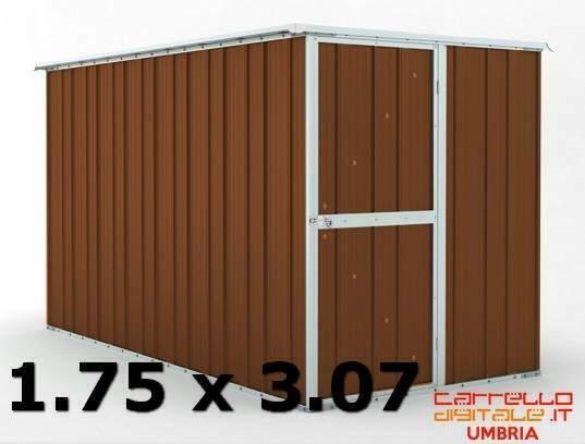 Casetta garage box acciaio lamiera zincata prefabbricato