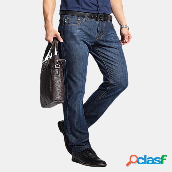 Casual Business Lunghezza Base Lunghezza Base Jeans per Uomo