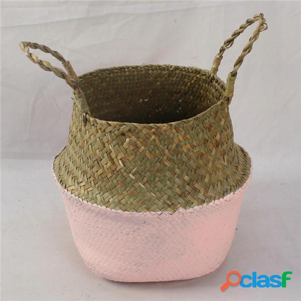 Cestello portaoggetti pieghevole per piante in vaso Borsa
