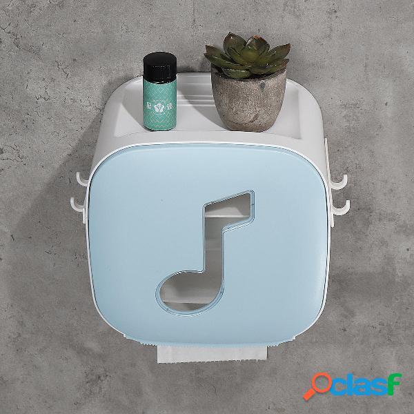 Contenitore per carta igienica, supporto per rack Scatola