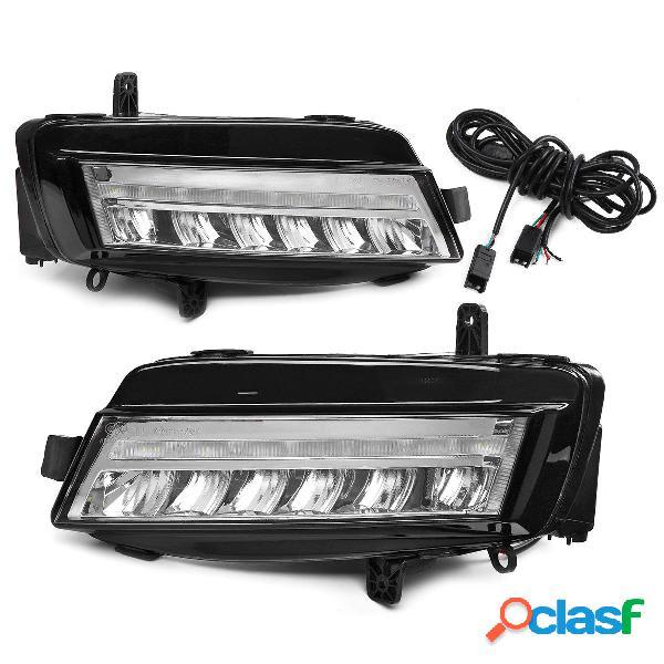 Coppia LED luci di marcia diurna DRL Nebbia lampada bianca