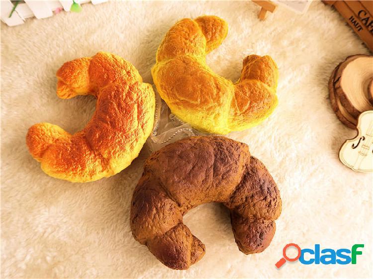 Croissant Bread Squishy 13CM Super Slow Rising Confezione
