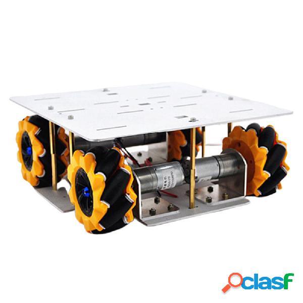 D-30 DIY Smart 4WD Base per telaio auto robot RC con motore