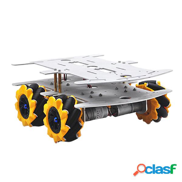 D-32 Base fai da te DDouble Decker Smart RC Robot Car