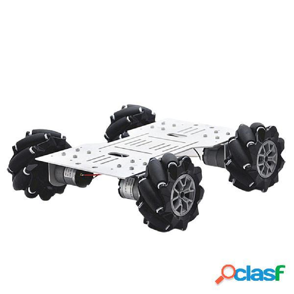 D-34 4WD Base per telaio per auto robot intelligente RC fai