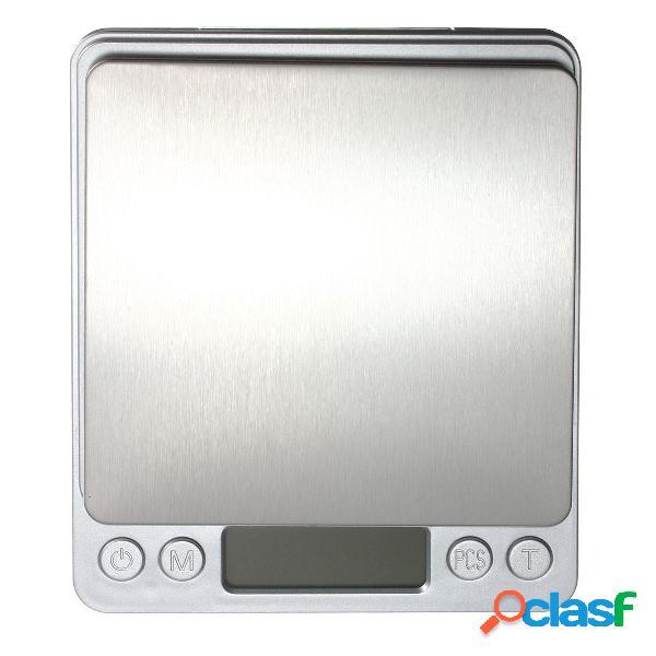 DANIU 2kg / 0.1g Gioielli in acciaio inossidabile digitale