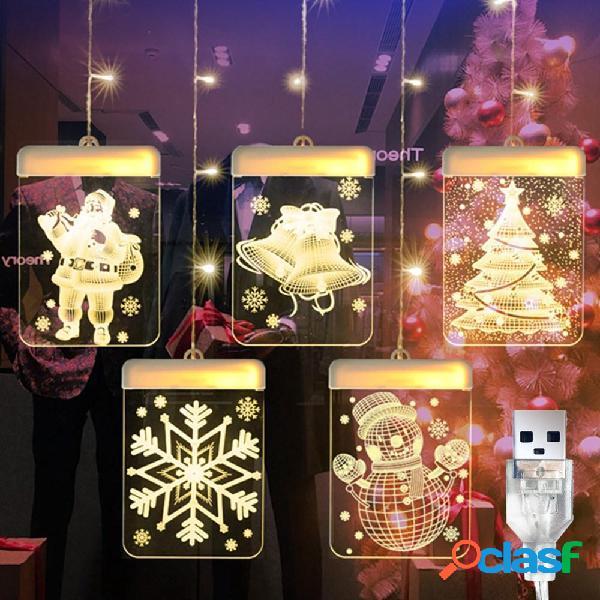 DC5V USB Babbo Natale + Campana + Albero di Natale + Fiocco