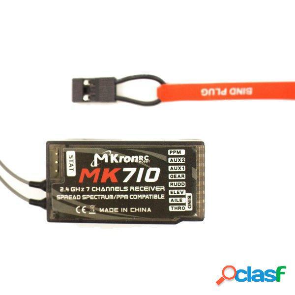 DSM2 DSMX ricevitore compatibile uscita supporto ppm MK710