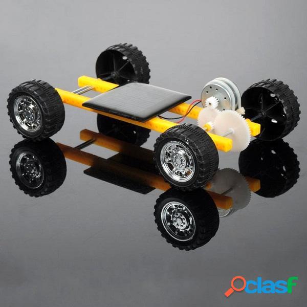 Diy giocattolo di potere solare auto mini per bambini