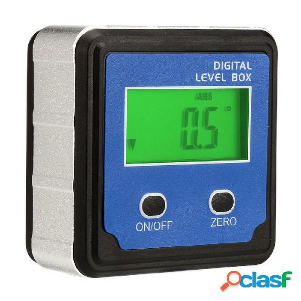 Drillpro 4 x 90 ° Digitale LCD Livello Scatola Inclinometro
