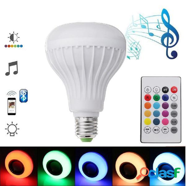 E27 12W di emergenza ricaricabile Colorful luce a led