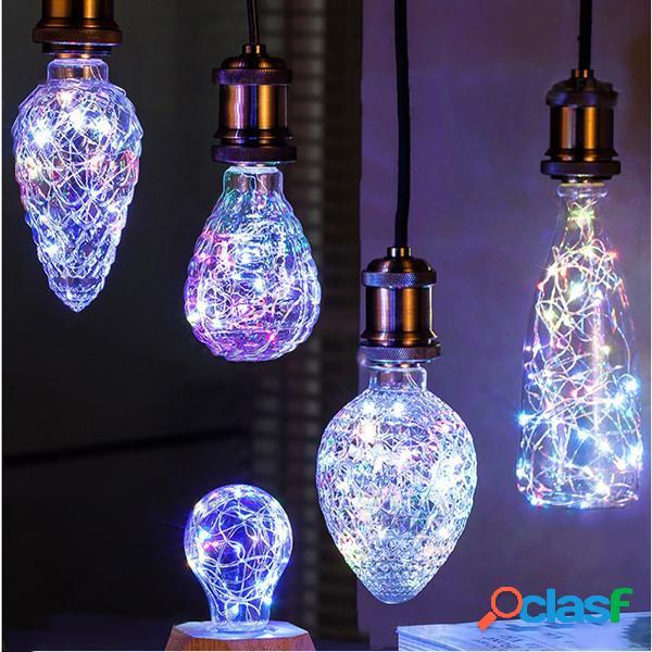 E27 3W Vintage Edison LED Bulbo multifunzionale della festa