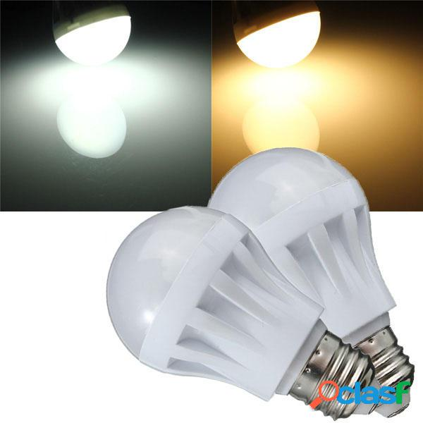 E27 7w 27 smd 2835 bianco/bianco caldo LED globo lampadina