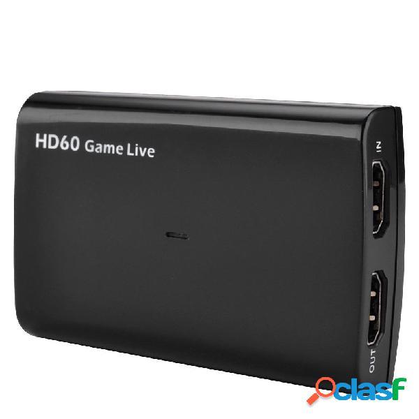 EZCAP 266 USB3.0 4K 1080P HD Acquisizione video Scatola con