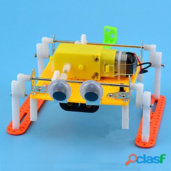 Fai da te kit regalo educativo a piedi giocattolo robot RC