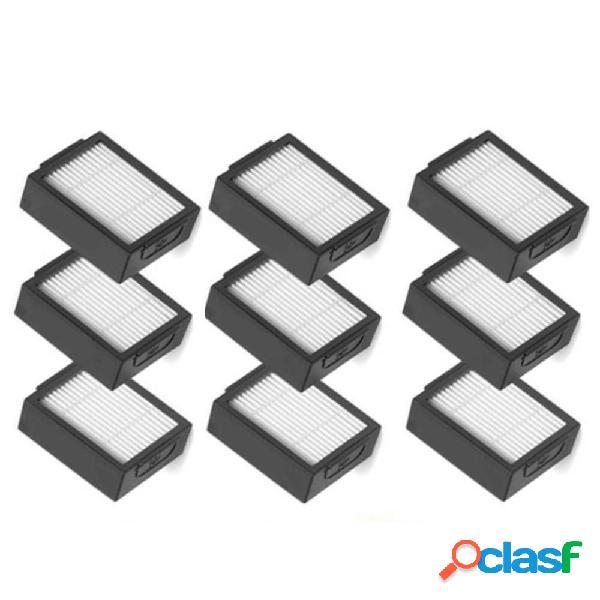 Filtro 9 pezzi per IRobot Roomba I7 E5 E6 Accessori per