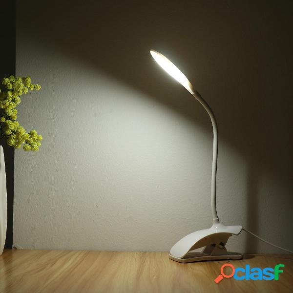 Flessibile LED Tabella lampada Supporto da scrivania USB