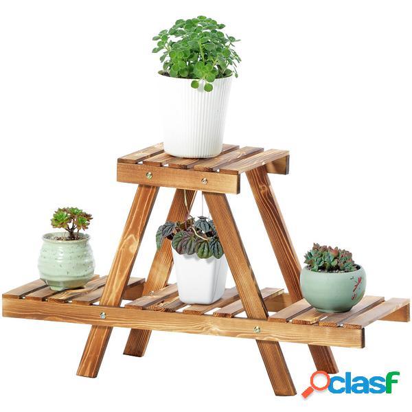 Flower Stand Plant Pot Scaffale Display Ladder Desk