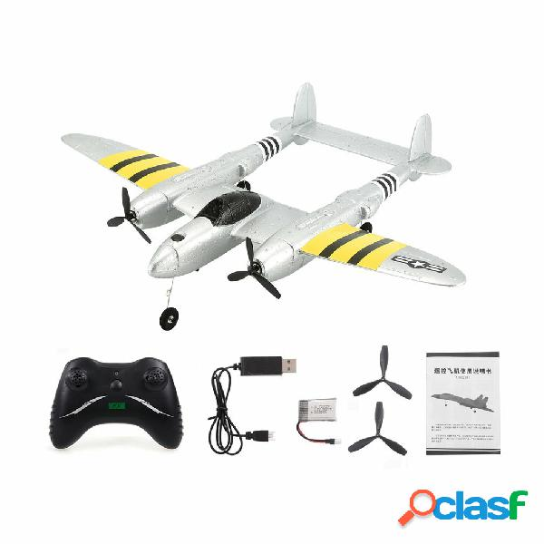 Flybear FX-816 P38 RC Airplane 430mm Apertura alare 2.4GHz