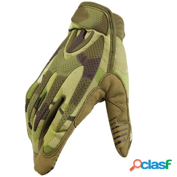 Full Finger Tactical Guanti Outdoor Training Military