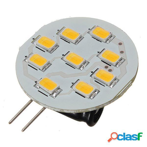 G4 3w LED 9 SMD 5630 auto bianco caldo lampadina lampada 12V
