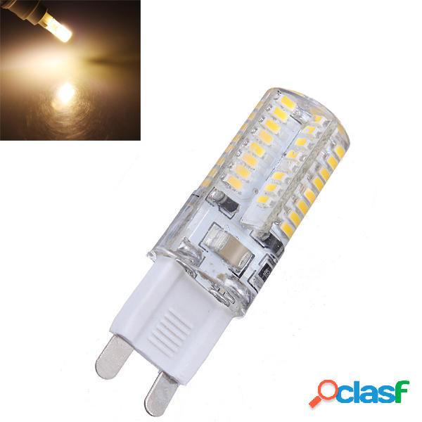 G9 3W Bianco caldo 64 SMD 3014 LED Spot Lampadine 220V
