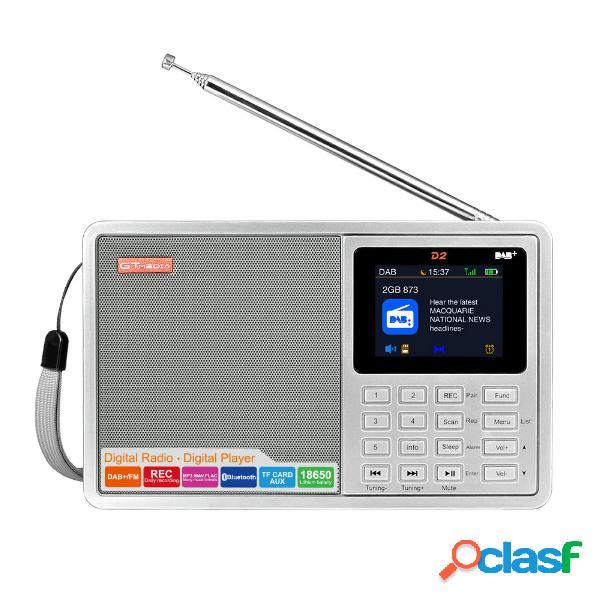 GTMEDIA D2 DAB + 174,92-239,20 MHz DAB FM Full Banda