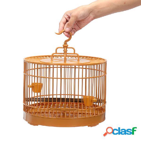 Gabbia per uccelli per animali Pappagallo Voliera Canarino