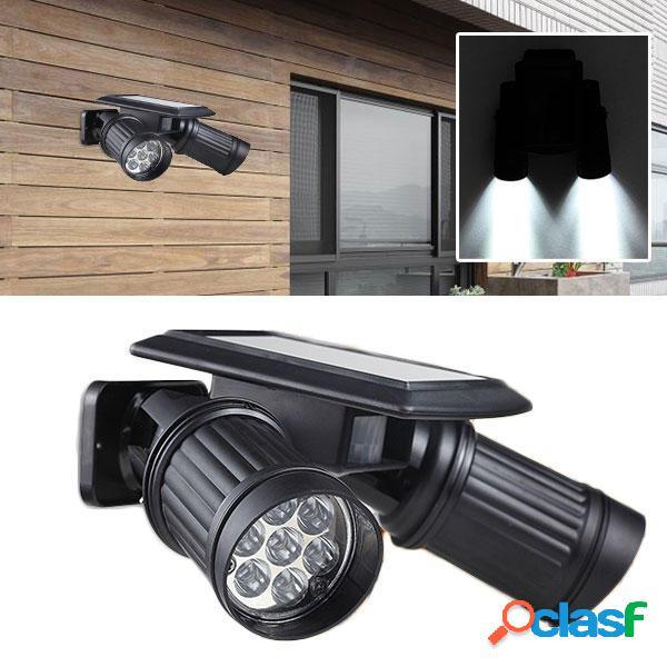 Giardino solare Super Bright 14 LED Spot Lightt Patio Garage